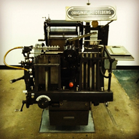 Heidelberg Windmill Letterpress Printing Press